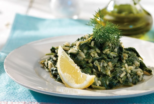 Spinach & Rice (Spanakorizo)